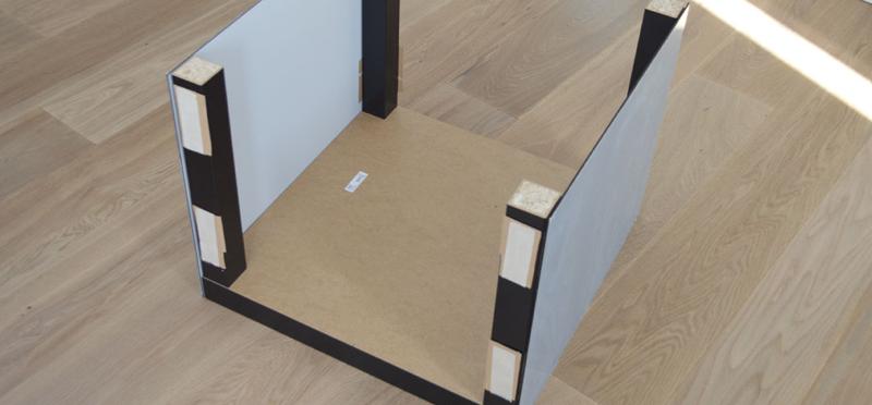 Acrylic table step 6