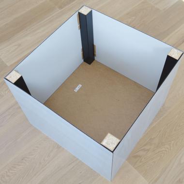 Acrylic table step 7