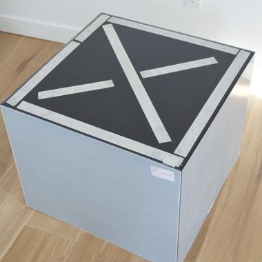 Acrylic table step 8