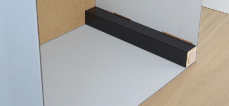Acrylic table step 9