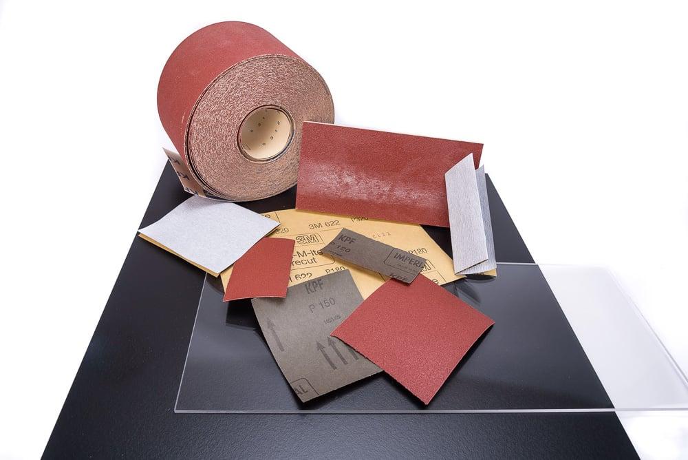 sanding materials