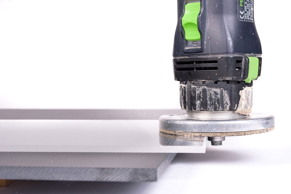 Milling acrylic step 1
