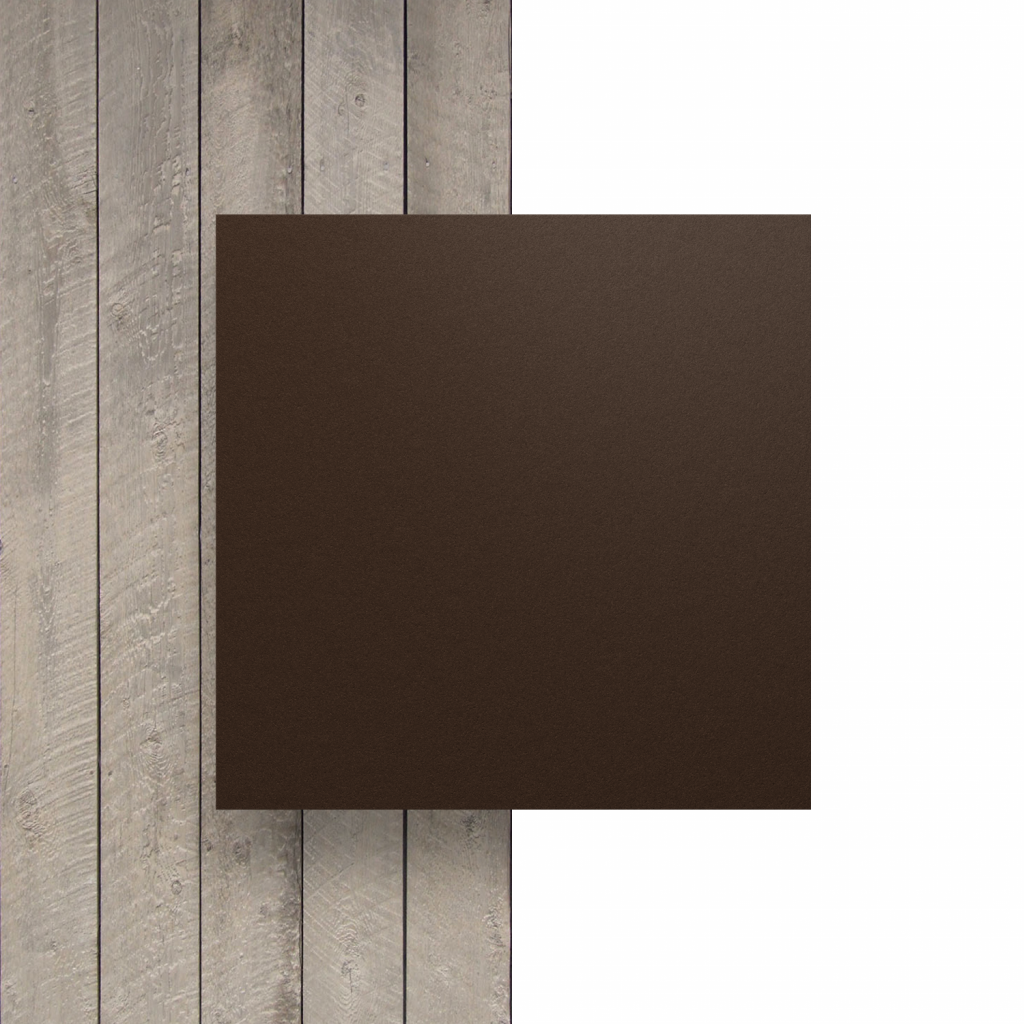 Front HPL Chocolate Brown Structure