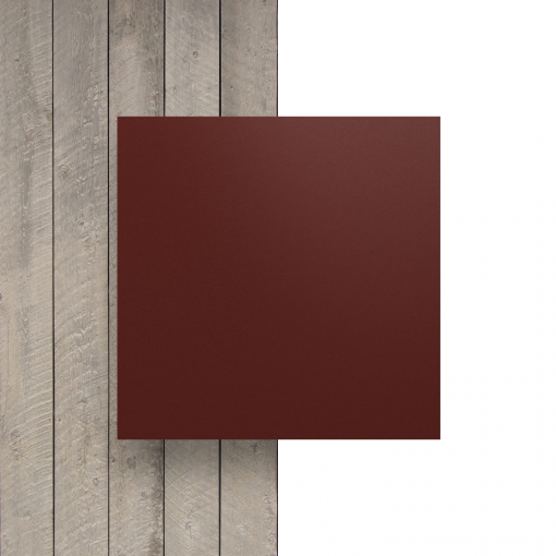 Front HPL Wine Red Structure