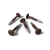 HPL screws RAL 8017 chocolate brown