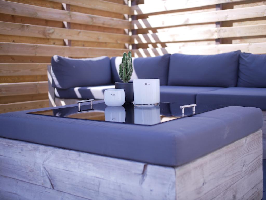 Acrylic footstool tray