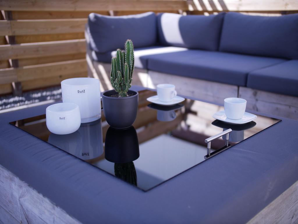 Large footstool tray acrylic