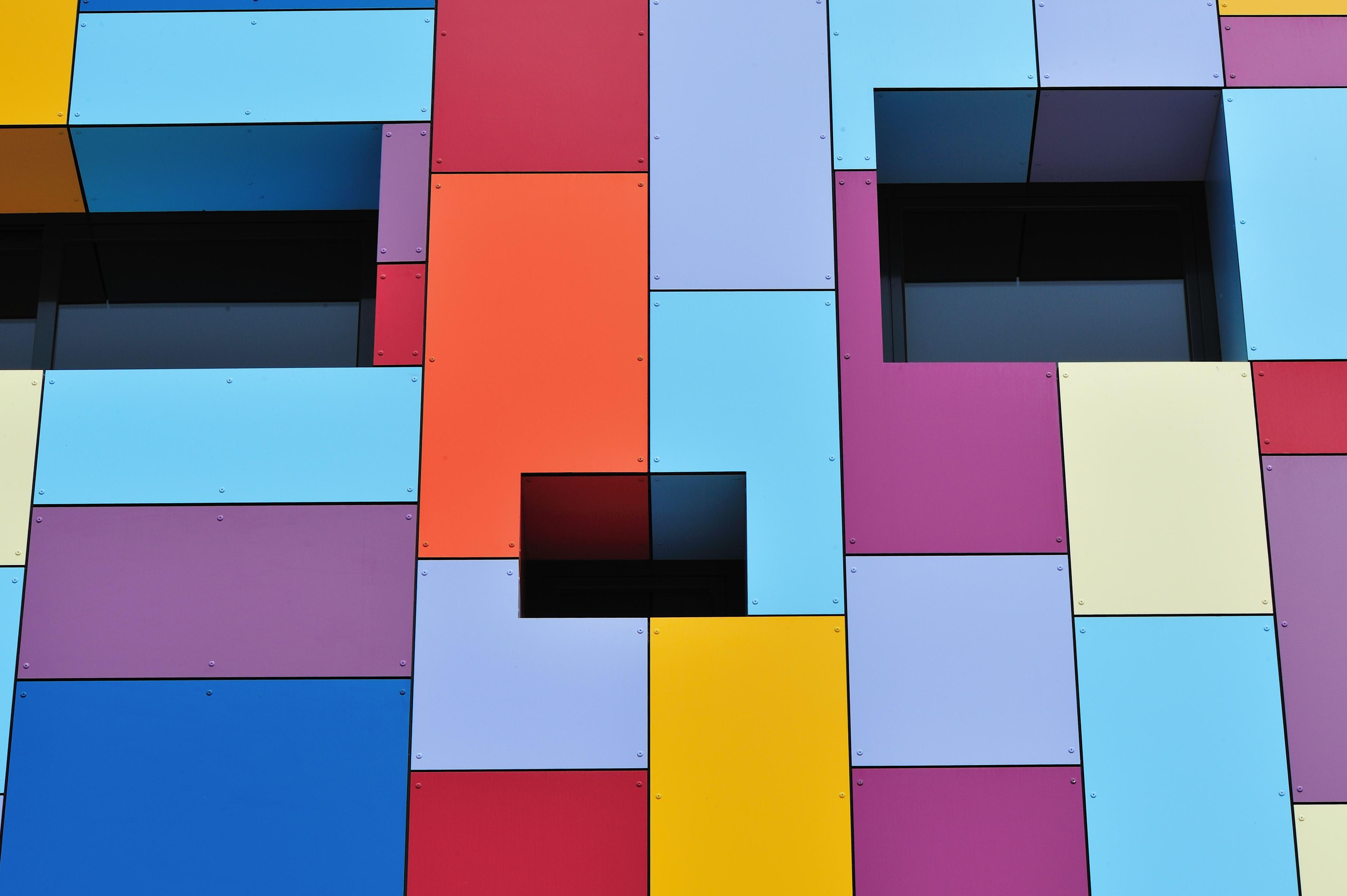HPL properties facade with hpl panels
