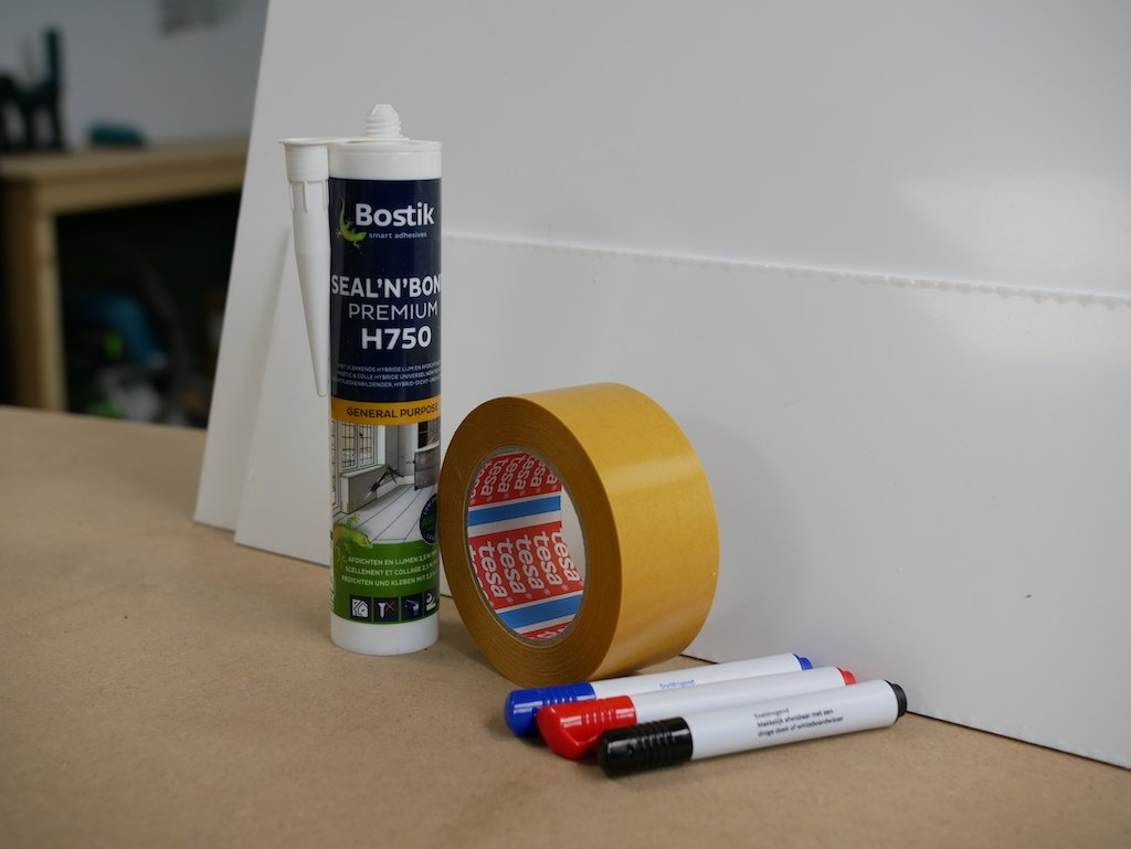 IKEA play kitchen hack supplies