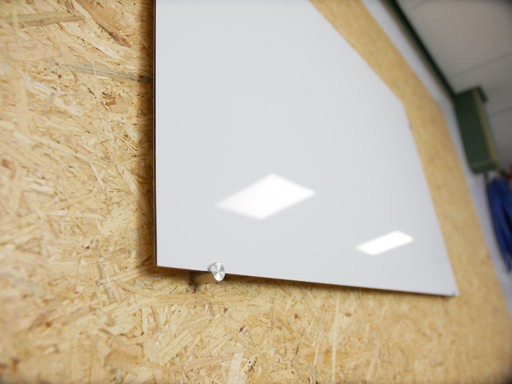 Aluminium composite panel whiteboard