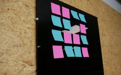 DIY: memo board