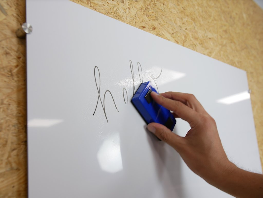 DIY whiteboard from ACP
