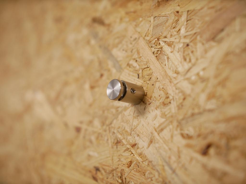 Panel holder close up