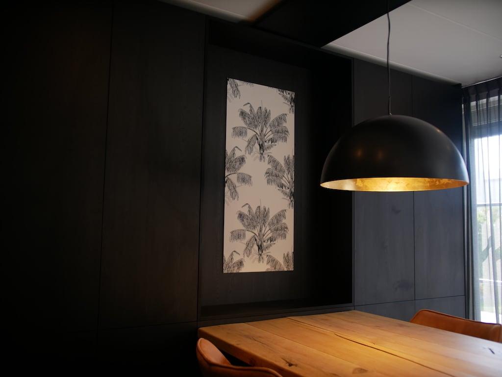wallpaper panel DIY