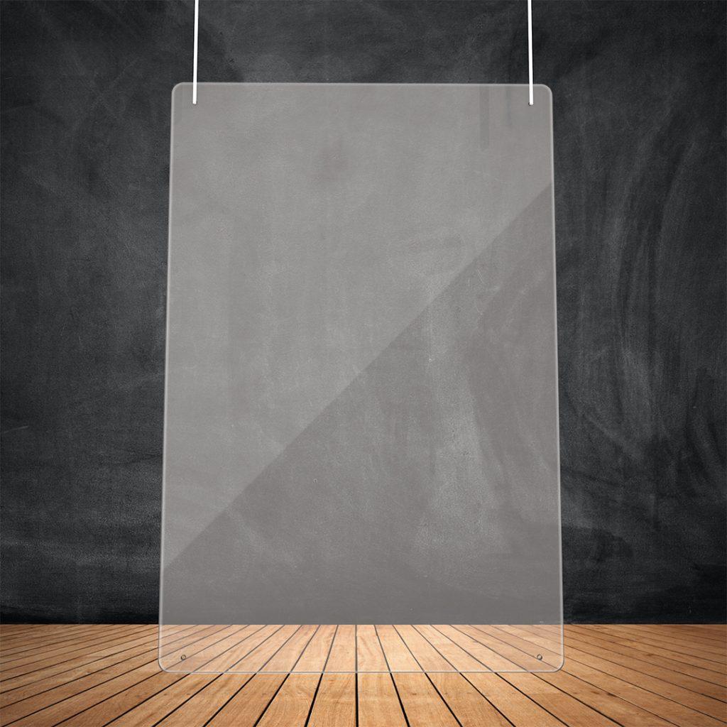 Transparent hanging screen sTransparent hanging screen