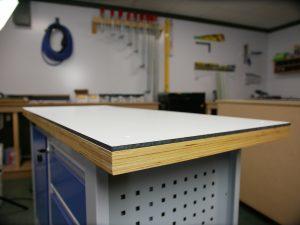 DIY worktop from HPL in 3 steps