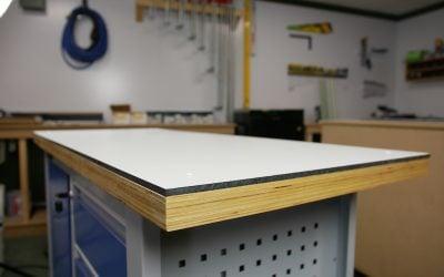 DIY: worktop from HPL in 3 steps