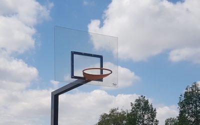 DIY: Replacing a basketball backboard