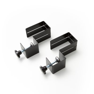 Set of clamps for acrylic sheet