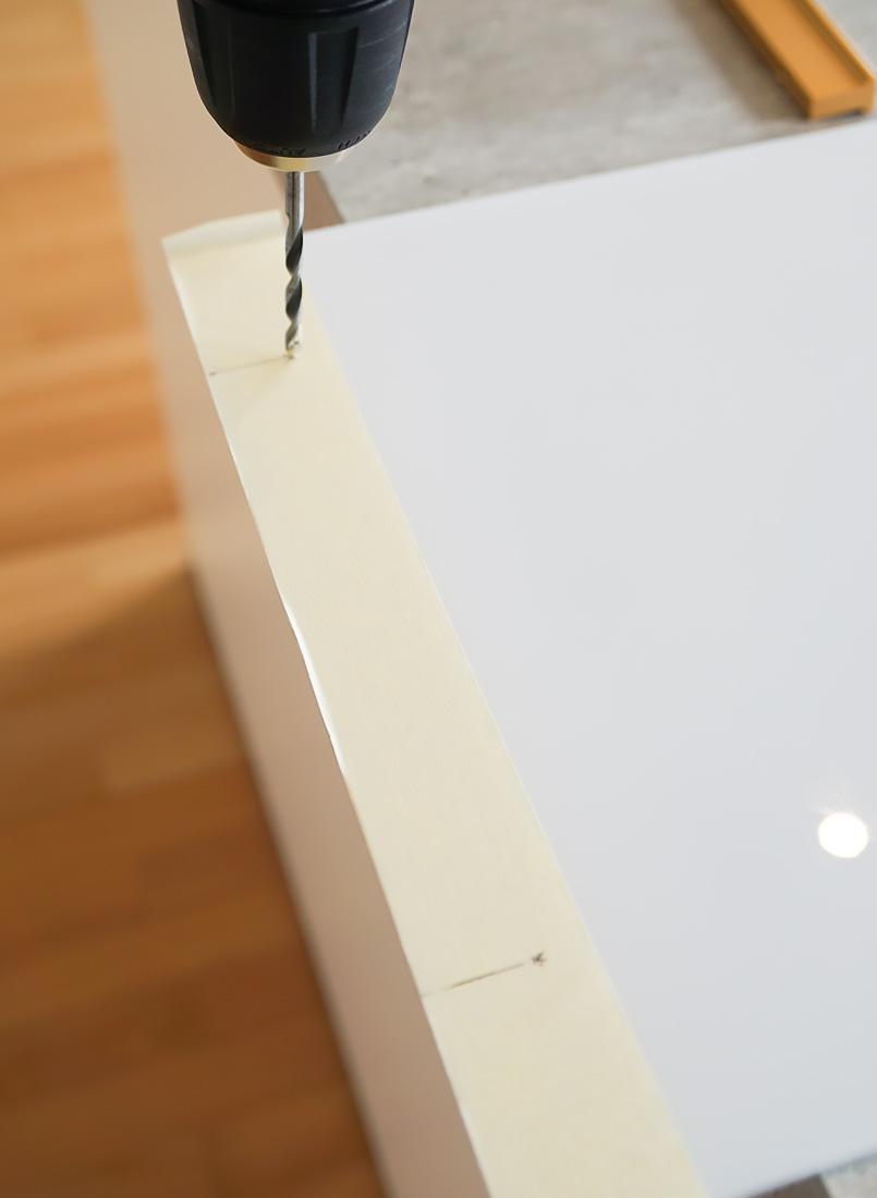 diy acrylic tray step 3