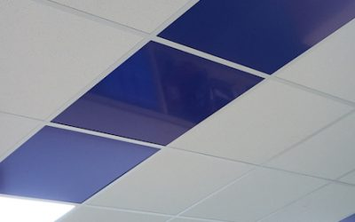 5 ways to customise a suspended ceiling