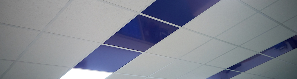 Customised suspended ceiling