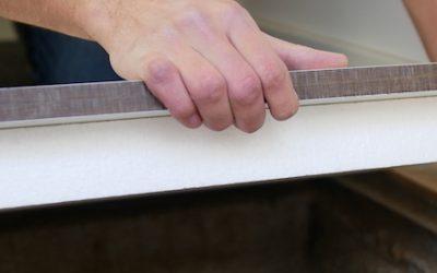 DIY floor access hatch from HPL