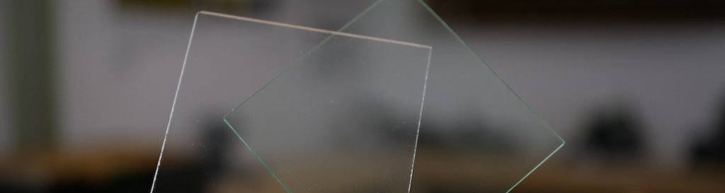 Glass or acrylic sheet which one to use