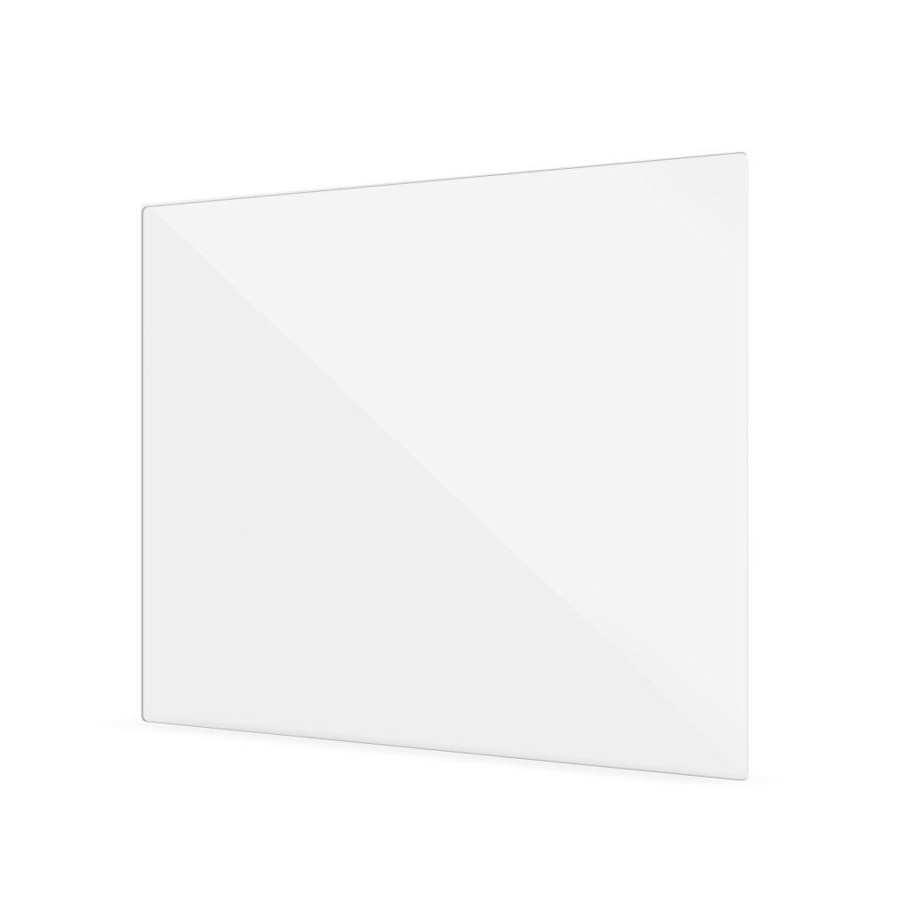Transparent PERSPEX screen