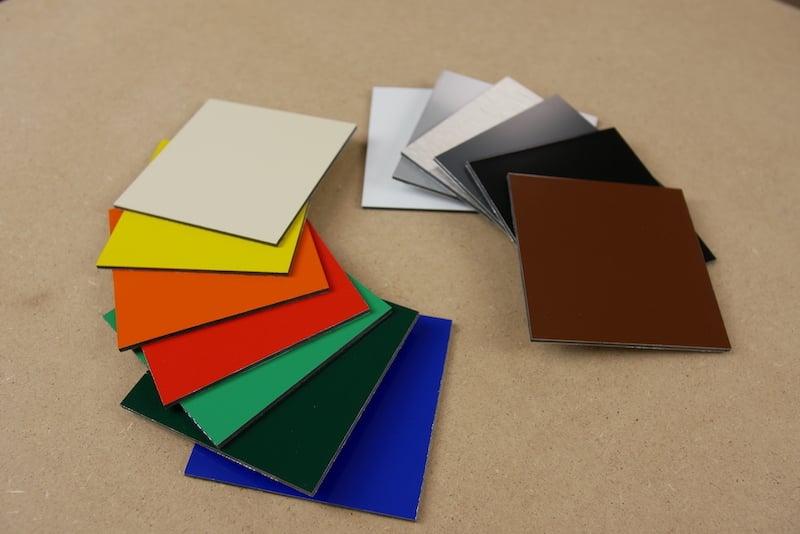 acp dibond colours