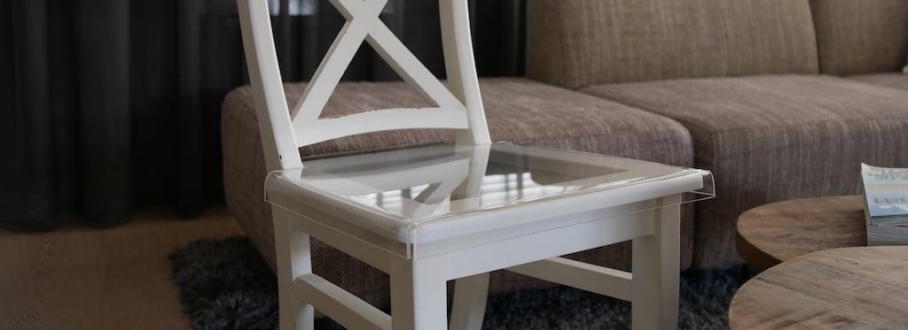Acrylic chair seat