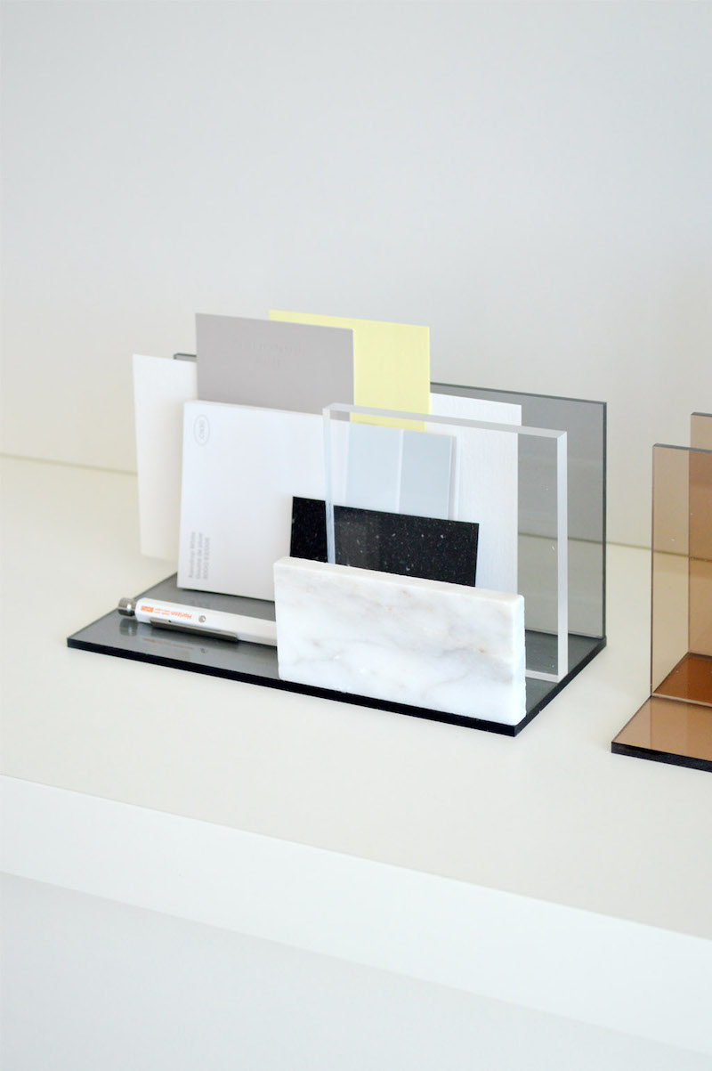 Perspex office accessories