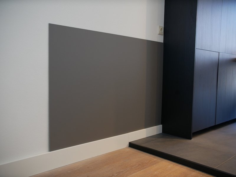 Plastic wall covering