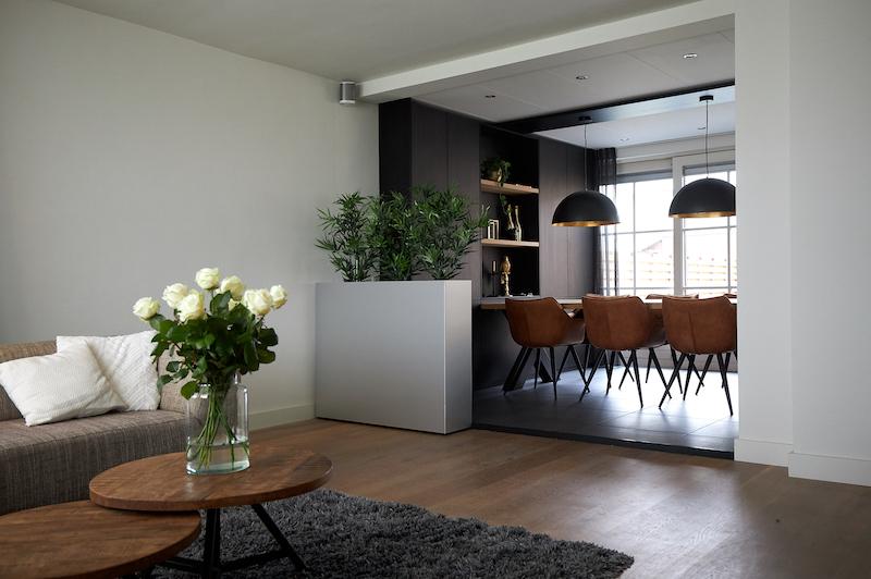 diy room divider planter