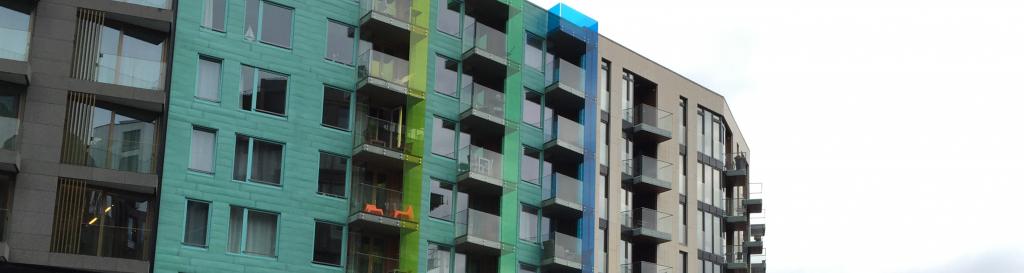 Balcony glazing acrylic