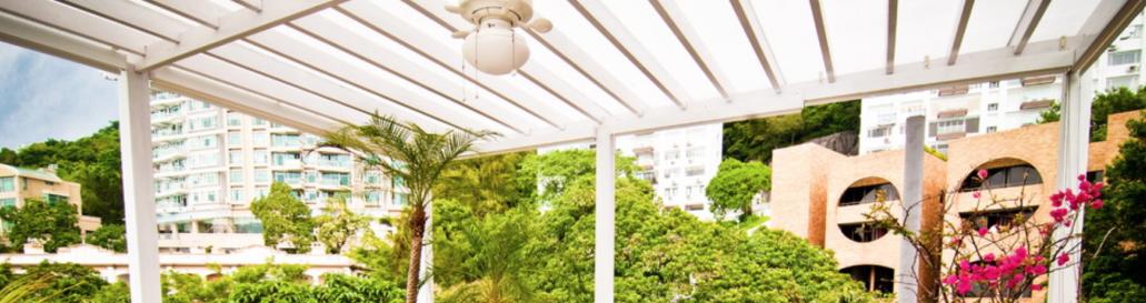 DIY patio cover polycarbonate
