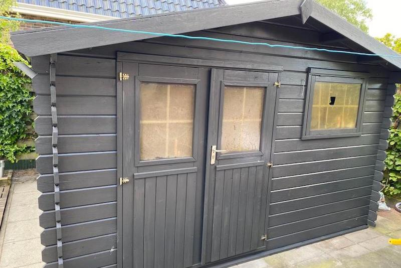 Replacing shed windows old windows garden shed house