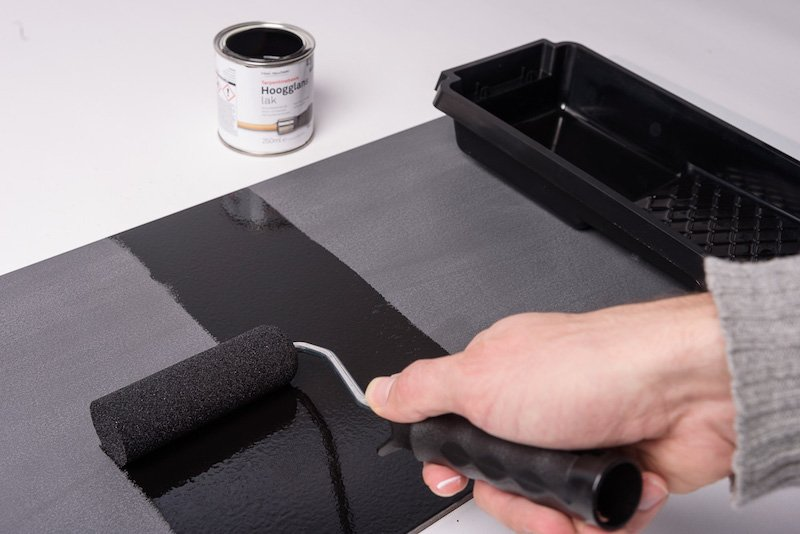 how to paint plastic cladding with finishing paint