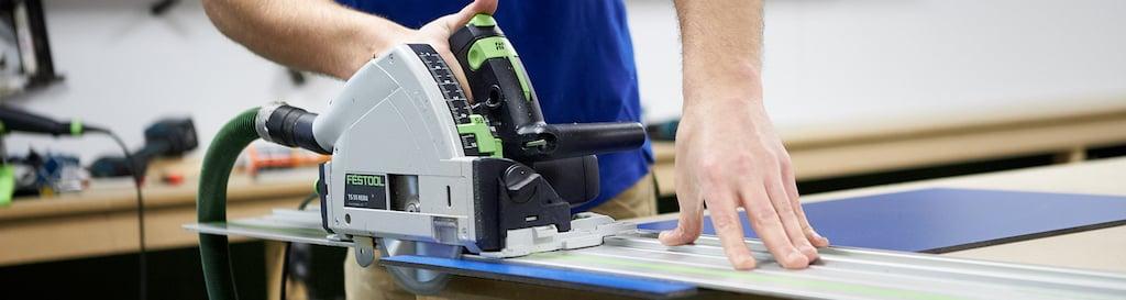 Cutting HPL with circular saw