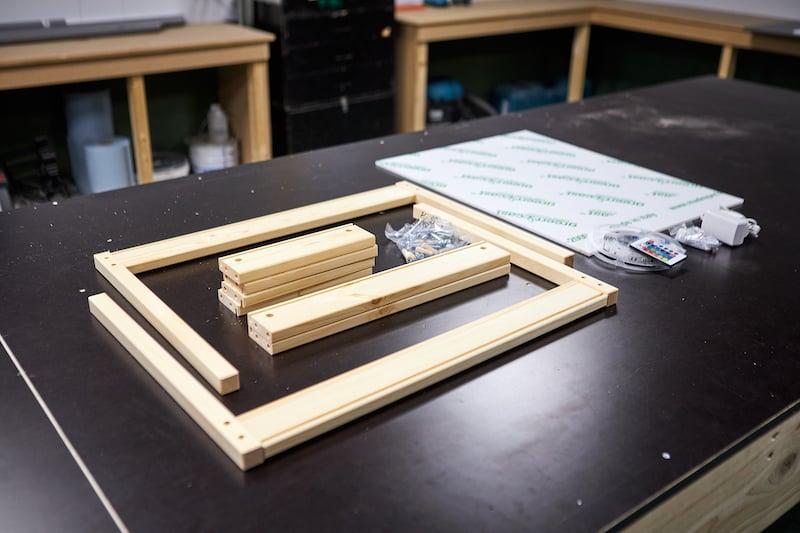 DIY light table neccesities