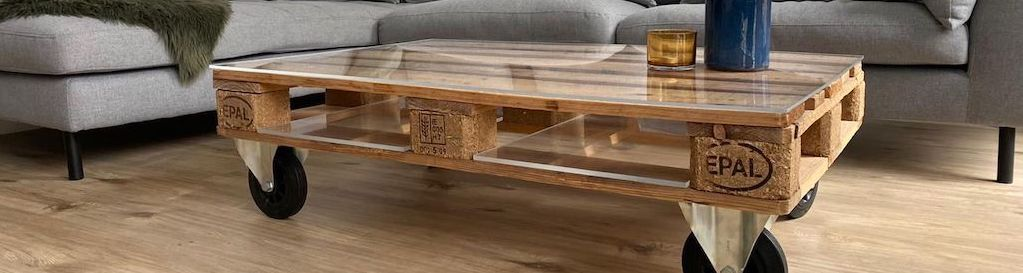 pallet coffee table banner