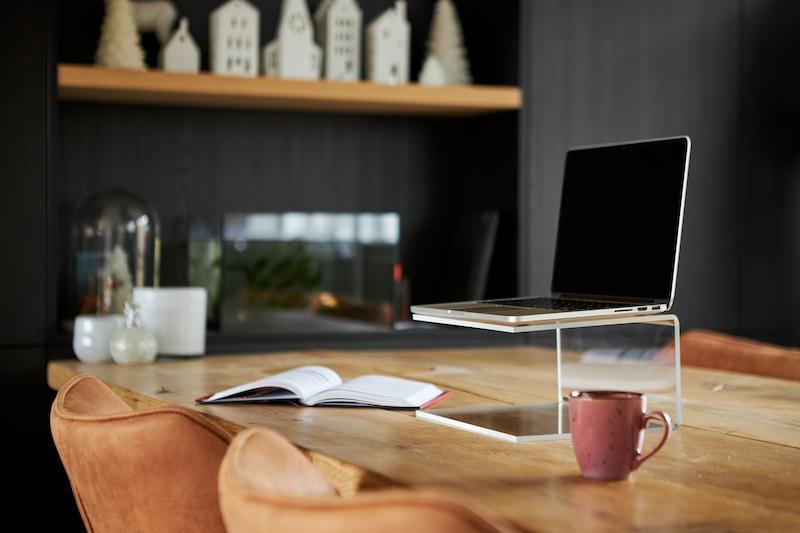 acrylic laptop holder
