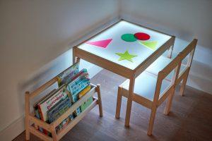 IKEA hack light table
