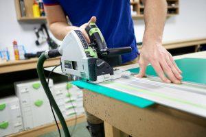 sawing pvc green