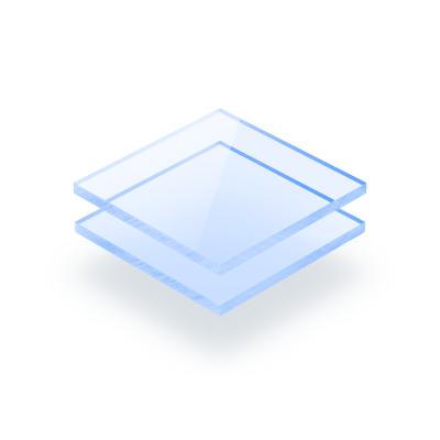 Fluorescent acrylic sheet blue