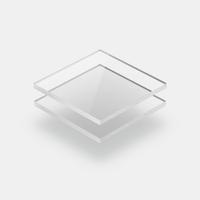 Range of clear acrylic sheets