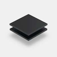 Range of matt acrylic sheets